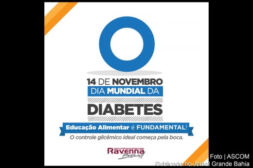 14 de novembro, 'Dia Mundial do Diabetes'.