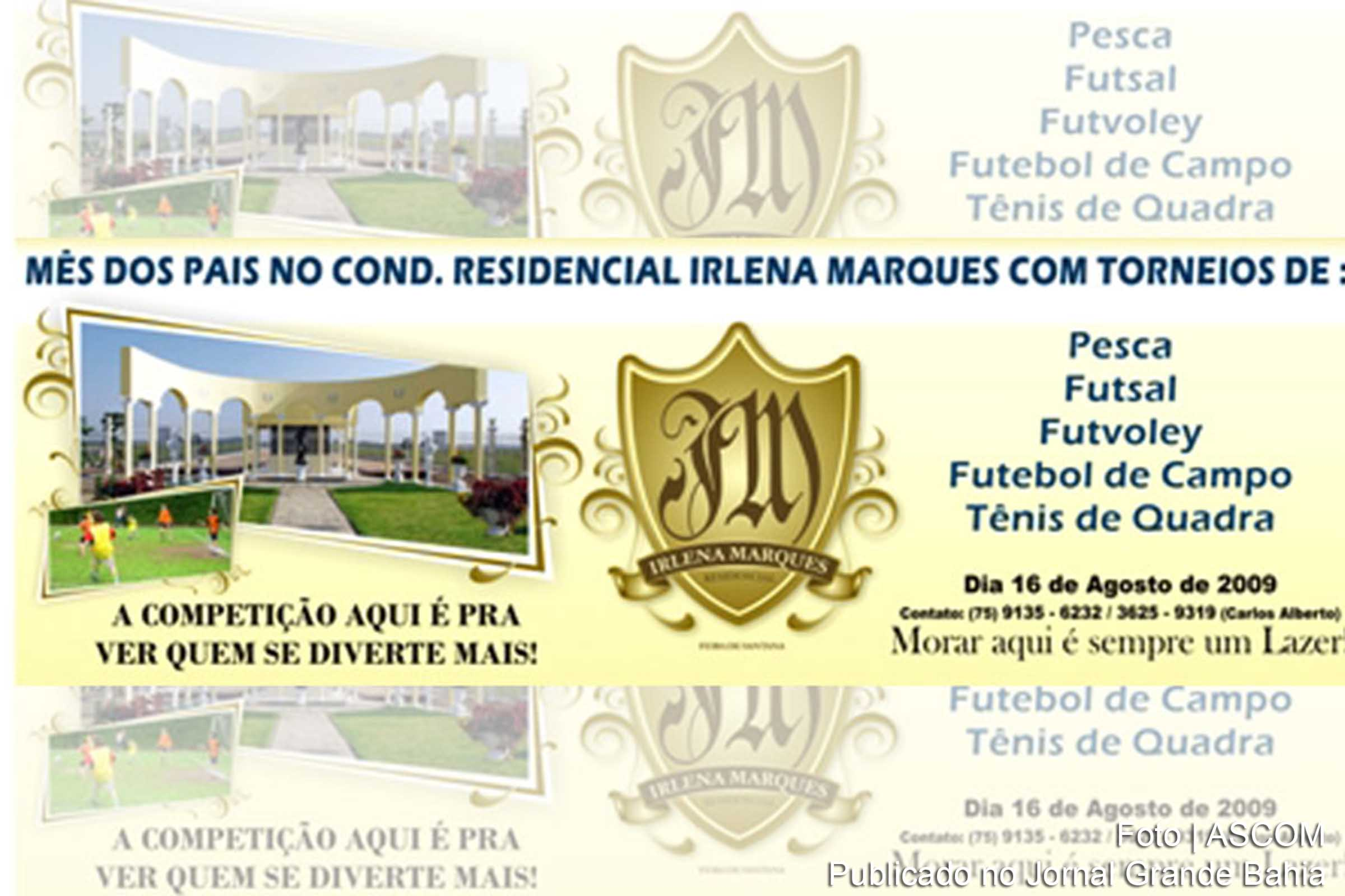 Residencial Irlena Marques.