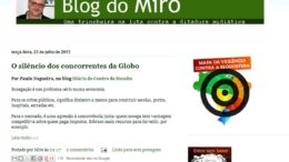 Altamiro Borges | Blog do Miro.