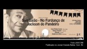 Cartaz do show de Furdunço de Jackson do Pandeiro com Paulo Costa.