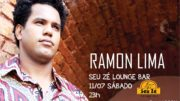 Cartaz do show de Ramon Lima.