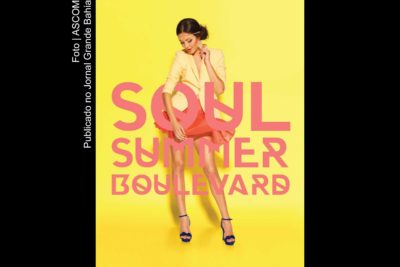 Cartaz do 'Soul Summer Boulevard'.
