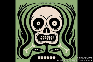 Capa do single 'Voodoo', do Clube de Patifes.