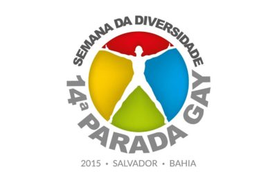 Cartaz da 14ª Parada Gay 2015.