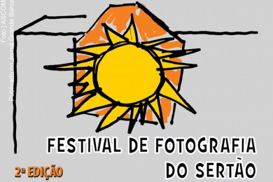 Cartaz do 'Festival de Fotografia do Sertão'.