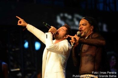 David Bisbal e Carlinhos Brown.