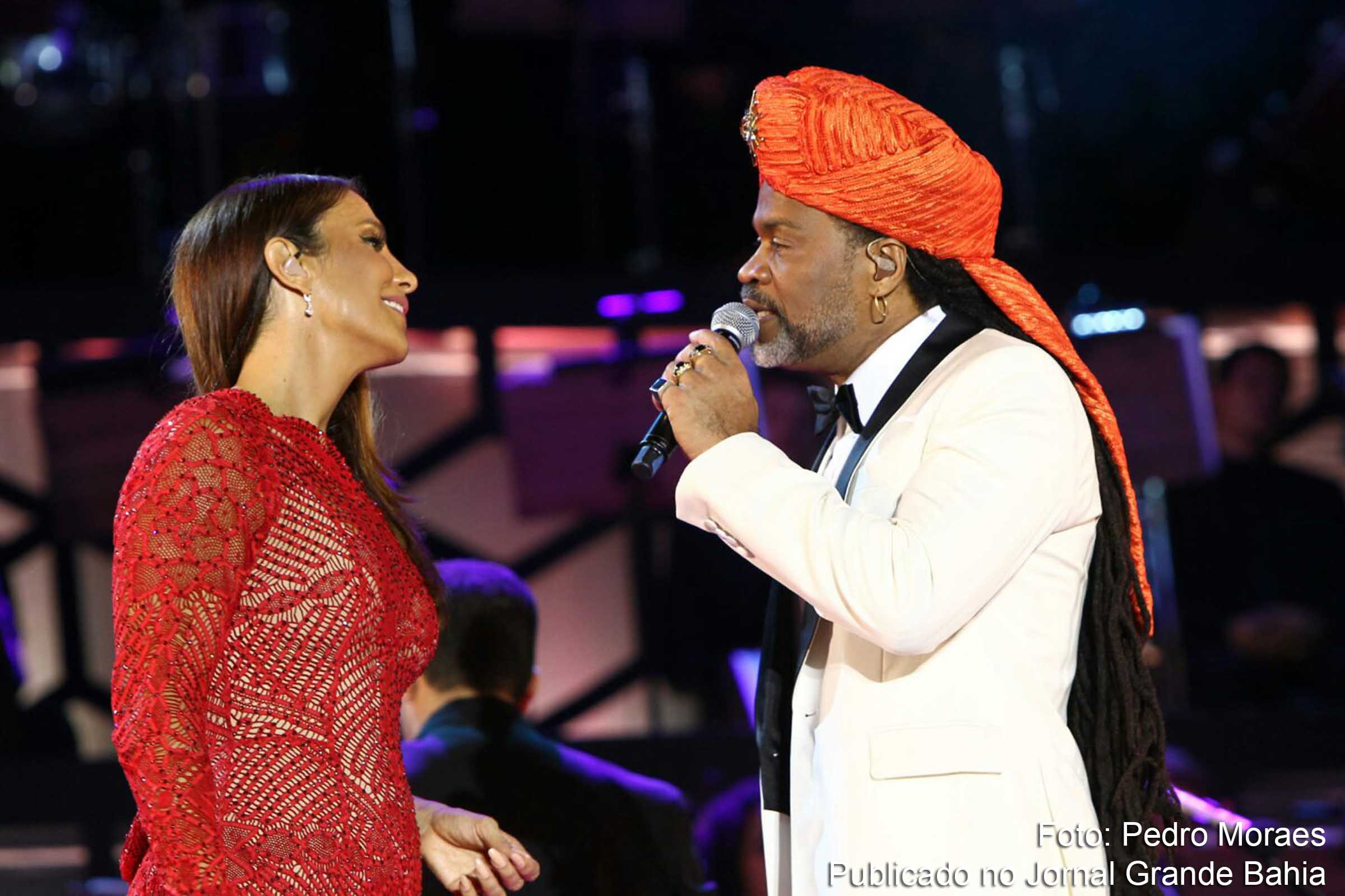 Ivete Sangalo e Carlinhos Brown.