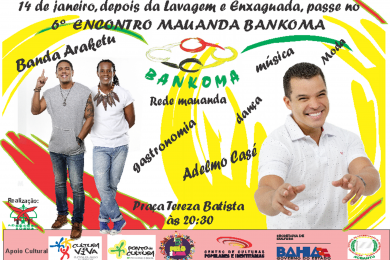 Cartaz do VI Encontro Mauanda.