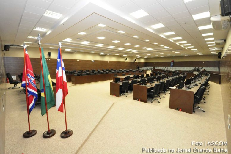 Salão do Tribunal Pleno do TJBA