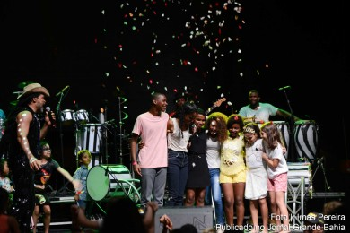 Sarau Kids é uma iniciativa do cantor e compositor Carlinhos Brown.