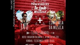 Cartaz Sheraton in Love Weekend.