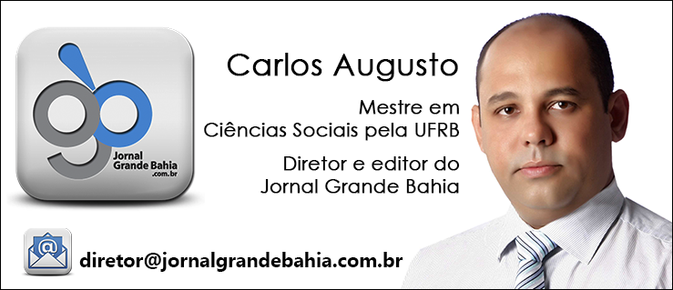 Banner de Carlos Augusto Oliveira da Silva para a home do Jornal Grande Bahia. Tamanho 370 x 160 px, versão 20160506.