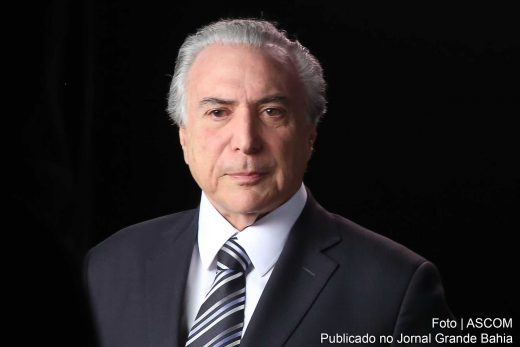 'Carta de princípios' do PSDB é entregue ao vice-presidente Michel Temer.