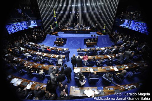Por 61 a 20, o plenário do Senado decide pelo impeachment de Dilma Rousseff.