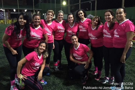 Jornalista Lilia Campos reúne amigas para o '2º Festbool - Baleado Feminino'.