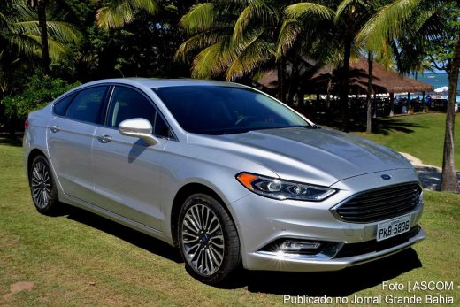 Ford Fusion 2.0 EcoBoost 2017.