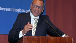 Jorge David Glas Espinel, vice-presidente do Equador.